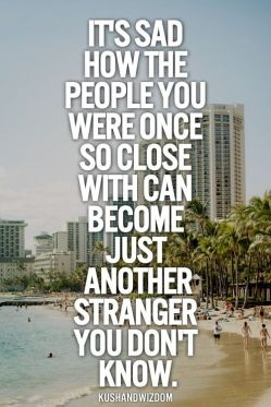 From Friends to Strangers